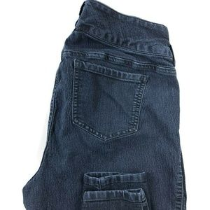 Torrid Denim Skinny Dark Wash Blue Stretch Jeans